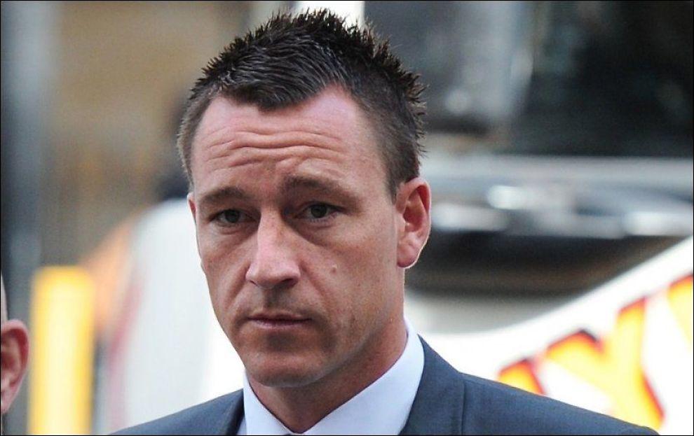 TILTALT: Det blir i dag klart om John Terry dømmes for rasisme eller ikke. Foto: Afp/ Carl Court