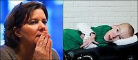 Jobb-statsråden handikapp-slaktes