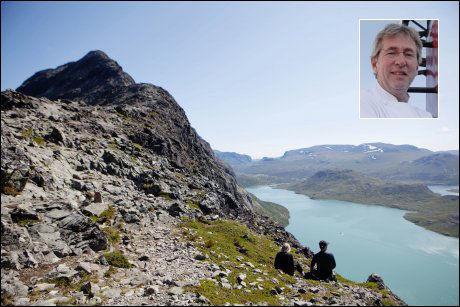 BESSEGGEN: Arne Brimi liker seg godt i Jotunheimen. Foto: Kristoffer Øverli Andersen