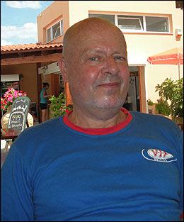 REAGERER: Tore Nygård og familien føler seg snytt av reiseoperatøren Ving. Her fra en tidligere ferie i Hellas. Foto: PRIVAT