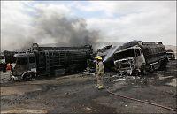 Taliban sprengte NATOs tankbiler i Afghanistan