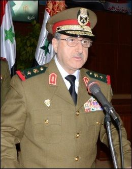 DREPT: Syrias forsvarsminister Dawoud Rajiha. Foto: Afp