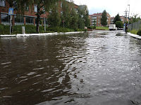 Voldsomt haglvær i Oslo
