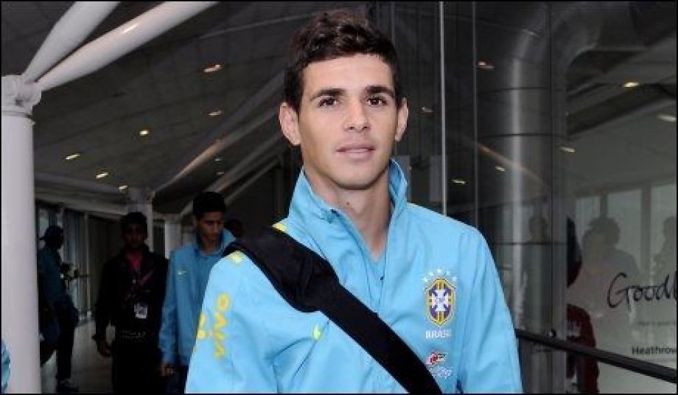 ANKOM LONDON: Tirsdag kom Oscar og resten av det brasilianske laget til London for å delta i OL. Foto: Camera Press/ David Dyson