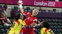 Norge vant med ni mål i OL-generalprøven