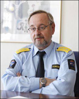 FENGSELSDIREKTØR: Knut Bjarkeid Foto: Trond Solberg