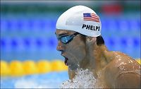 Michael Phelps til finale med et nødskrik!