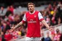 Nicklas Bendtner ferdig i Arsenal