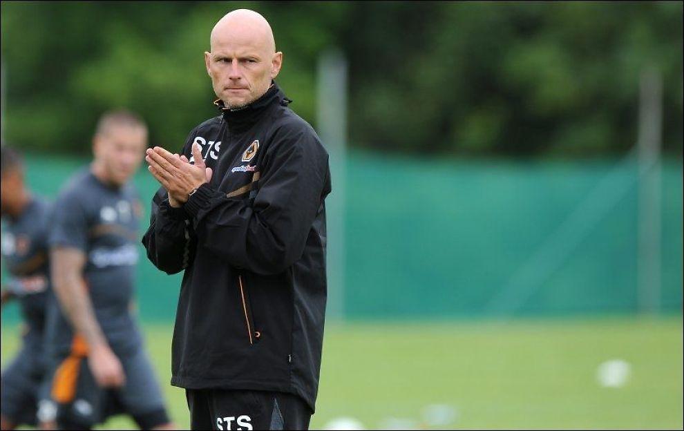 BUD PÅ STJERNE: Ståle Solbakken og Wolverhampton har mottatt et bud på Steven Fletcher. Foto: Sam Bagnall, AMA