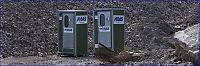 Oslo kommune har satt opp toaletter til romfolk