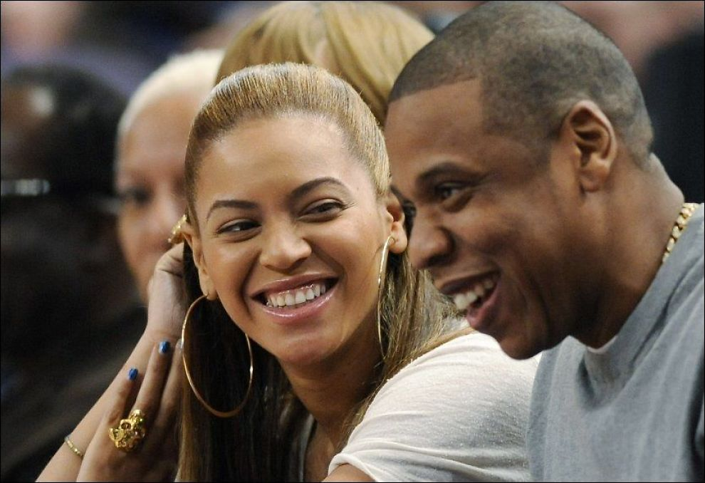 PAR I PENGER: Jay-Z og hans kone Beyonce tjener fett på platesalg, reklamekampanjer og turnèvirksomhet. Foto: Ap.