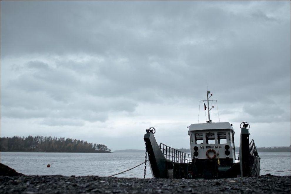 """BLE TILBUDT BÅT: Politiet får kritikk av kommisjonen for at de ikke tok i bruk """"MS Thorbjørn"""". Foto: KRISTER SØRBØ"""