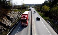 Sverige åpner igjen for tunge lastebiler