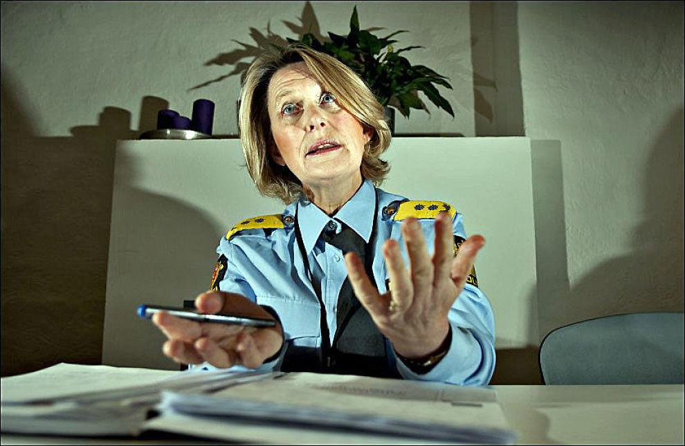 GRANSKET: Sjef Ingrid Wirum ved Politiets utlendingsenhet (PU) har siden juni blitt etterforsket av Spesialenheten for mulig straffbare forhold i tjenesten. Foto: ROBERT S. EIK/VG