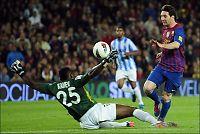 Manchester City la inn skambud på Messi