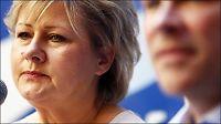 Erna Solberg: Mediehåndtering viktigere enn beredskap for Storberget