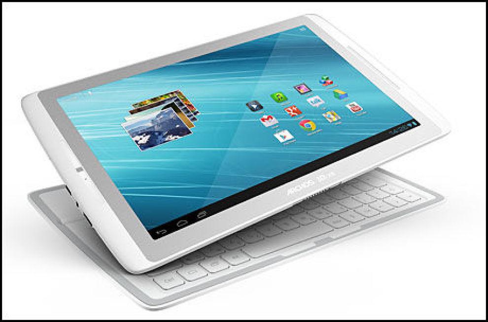 Med en tykkelse på bare 8 millimeter er nettbrettet 15 prosent tynnere enn iPad. (Foto: Archos)