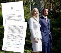 Kronprinsparet avviser brist i sikkerheten i brev til VG