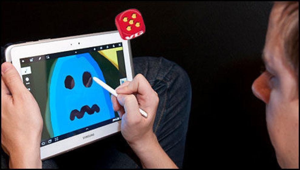 Den digitale pennen tilfører funksjoner som ingen andre av dagens nettbrett har. (Foto: Finn Jarle Kvalheim, Amobil.no)