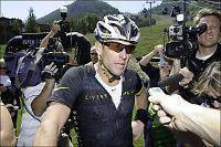 Hevder Armstrong ble tipset om dopingkontroller