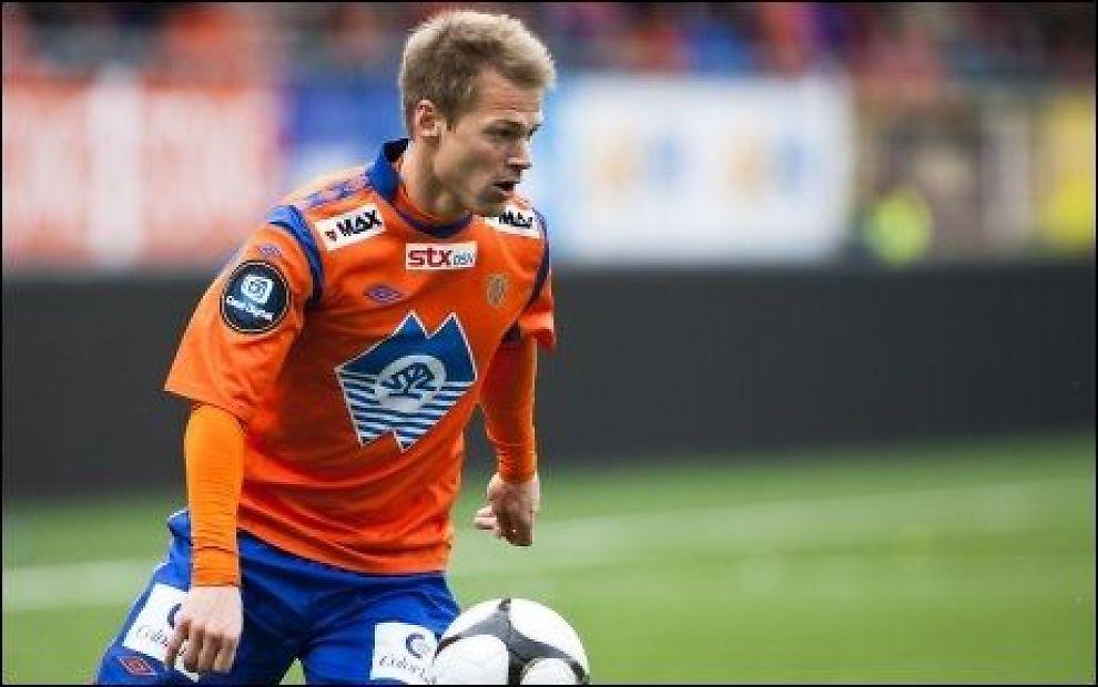 TIL BODØ/GLIMT: Magnus Sylling-Olsen forlater Aalesund og er klar for Bodø/Glimt. Foto: Svein Ove Ekornesvåg, NTB Scanpix