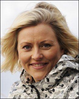 TRIST: Eli Kari Gjengedal mottok nyheten om Theisens bortgang med stor sorg. Foto: Marit Hommedal, NTB scanpix