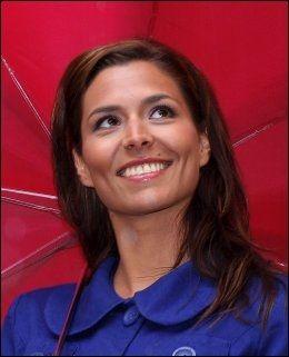 EN BAUTA: Værdame Isabella Martinsen har stor beundring for den kjente meteorologen. Foto: Hallgeir Vågenes