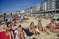 Har denne byen Europas beste bystrand?