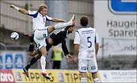 Gunnarsson rystet Haugesund