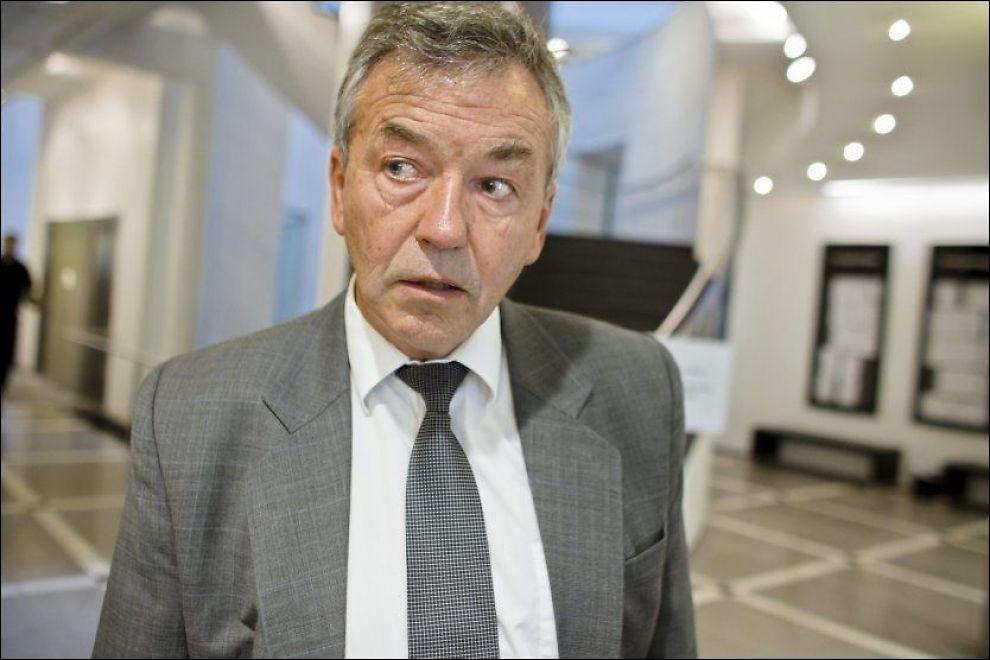 RYSTET: Arne Gunnar Aas var bistandsadvokat for kvinnen den drapssiktede 37-åringen brutalt slo ned med en jernstang i 2007. Foto: Krister Sørbø