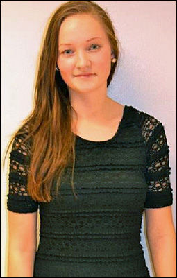 DREPT: Sigrid Giskegjerde Schjetne (16) ble funnet død i et lite skogholt på Kolbotn mandag kveld. Foto: PRIVAT