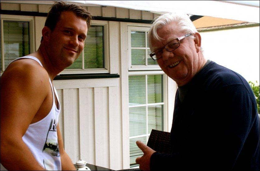 Leander Eggen mot farfar Nils Arne i minnekamp