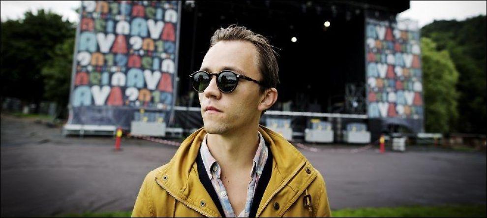 NY SCENE: Sondre Lerche skal spille en sentral rolle i en ny ungdomsopera i Bergen. Her er han på Øyafestivalen i sommer. Foto: JØRGEN BRAASTAD/VG