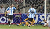 Gonzalo Higuaín reddet poeng for Argentina