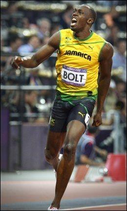 Usain Bolt. Foto: Bjørn S. Delebekk, VG