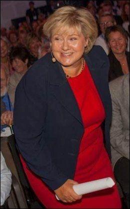 STATSMINISTERKANDIDAT: Høyre-leder Erna Solberg. Foto: ERIK NORRUD