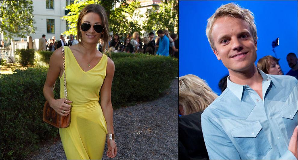 TAR OVER: Jenny Skavlan og Erik Solbakken. Foto: MATTIS SANDBLAD / TERJE BRINGEDAL