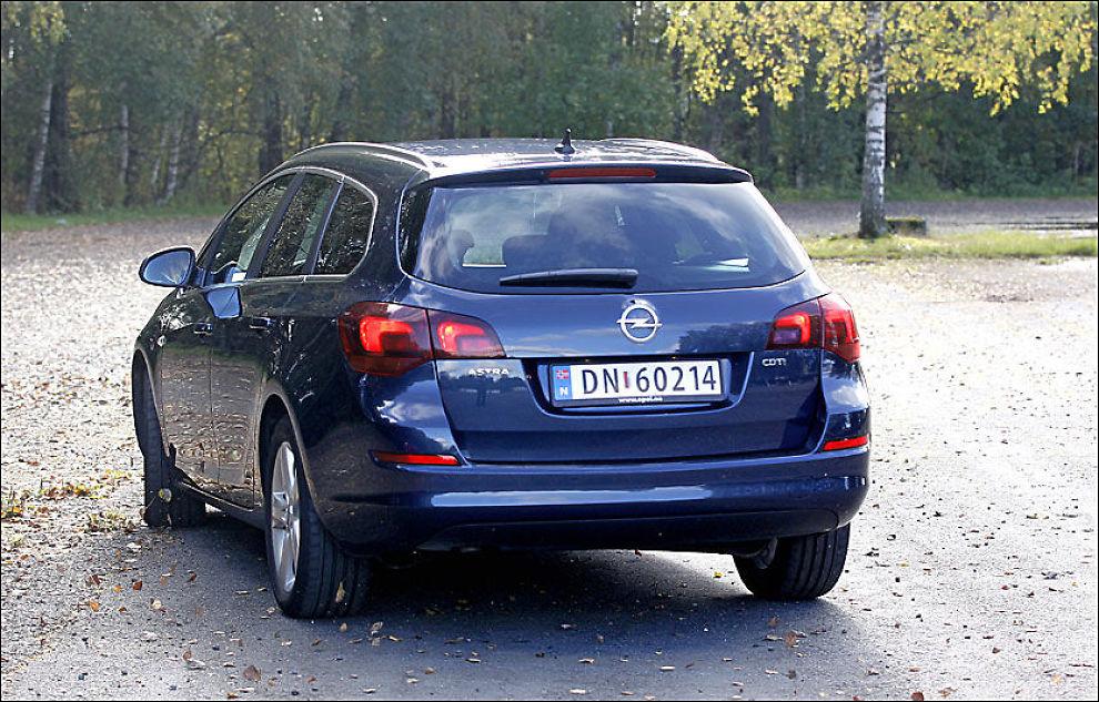 BEST: Opel Astra 2009. Foto: Jan Petter Lynau