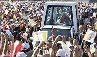 Paven ber kristne være fredsambassadører