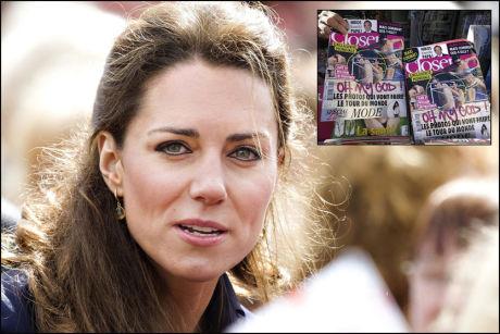 OMSTRIDT: Bildene i dette bladet skaper royalt raseri. NB! Bildene er sladdet av VG Nett. Foto: REUTERS