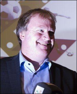 REAGERTE: Yngve Hallén og Norges Fotballforbund kom med reaksjoner overfor klubber som ikke har levert økonomi-varene. Foto: Heiko Junge, NTB Scanpix