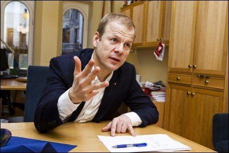 KRITISERER FN: Utviklingsminister Heikki Holmås (SV) sier FN fortsatt vil være en hjørnestein i norsk utenrikspolitikk. Samtidig kritiserer ministeren FN og spesielt sikkerhetsrådet for å ikke fremstå som én samlet organisasjon. FOTO: FRODE HANSEN
