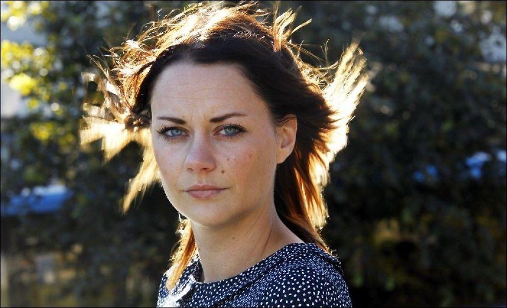 SNAKKER UT: Line Hoem ble tilkjent betydelig voldsoffererstatning. - Endelig å bli trodd var det viktigste, sier hun. Foto: Halgeir Vågenes/VG