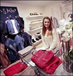 PROFFSHOPPER: Christina Rud Nielsen tilbyr personlig shoppehjelp i butikken Designers market. Her finner du fine danske merker som Kön