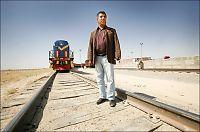 Slik er Afghanistans eneste jernbane
