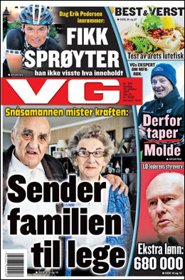 Foto: Faksimile VG