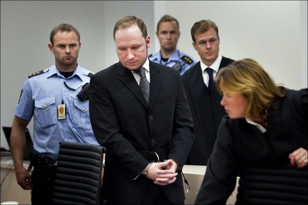KLAGER: Anders Behring Breivik (33) er lei av isolasjon. Foto: FOTO: FRODE HANSEN/VG