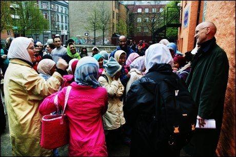 SKOLEKONFLIKT: I 2004 var det skarp konflitk mellom elever, lærere og Trond Ali Linstad på Urtehagen skole. Foto: Arkivfoto: VG
