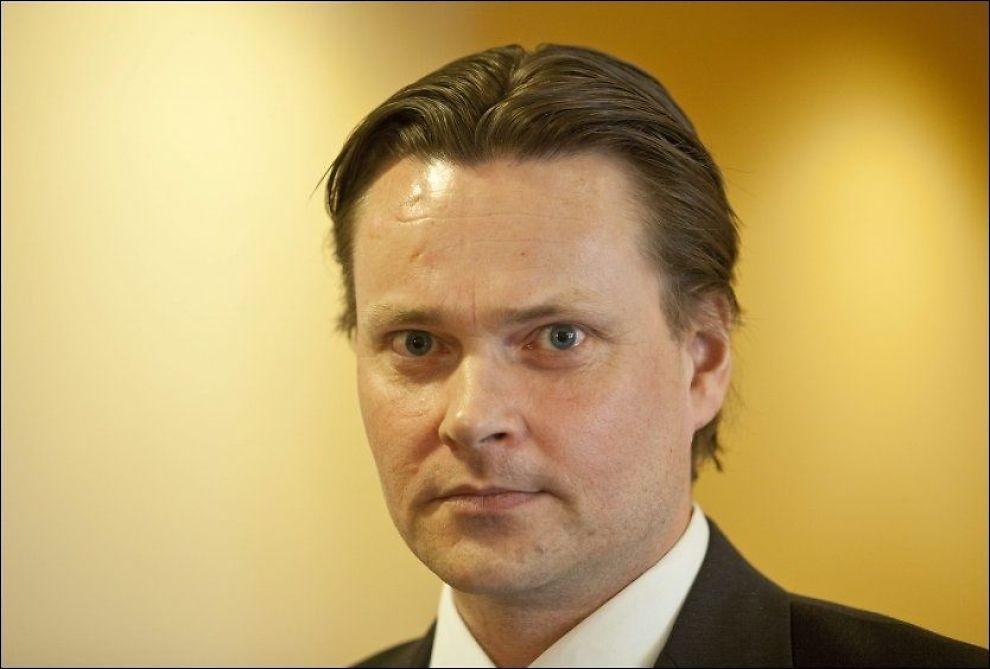 FORSVARER: 38-åringens forsvarer Steinar Thomassen (bildet) meddelte i dag innholdet i voldtektsdommen til sin klient. Foto: GEIR OLSEN
