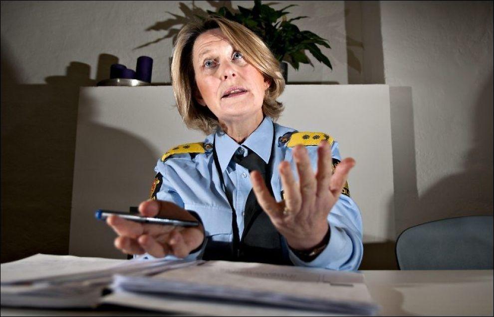 BLE ANMELDT: Sjef for Politiets utlendingsenhet, Ingrid Wirum (54), er renvasket etter å ha vært etterforsket for grov uforstand i tjenesten. Foto: Robert Eik, VG